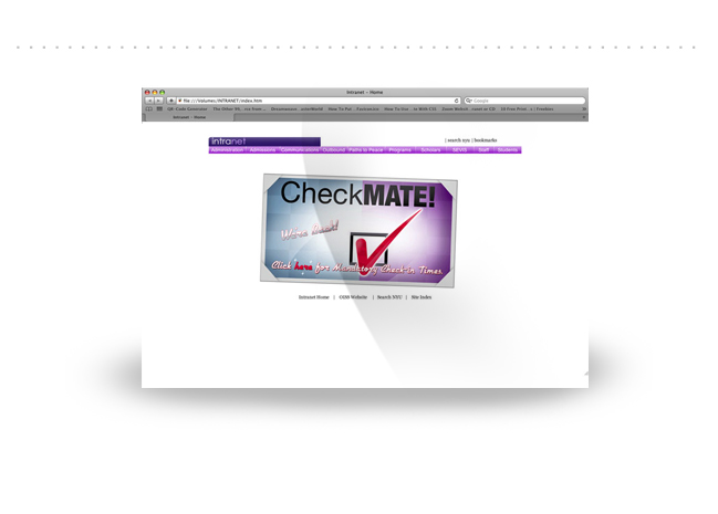 NYU INTRANET SITE